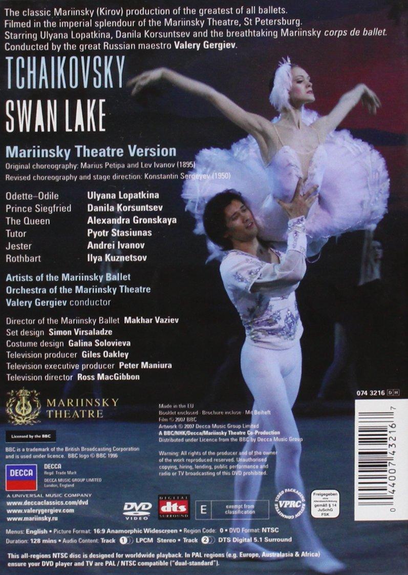 Tchaikovsky - Swan Lake by Decca