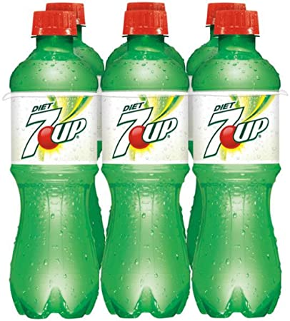 amazon com 7up diet soda 16 9 oz bottles pack of 12 grocery