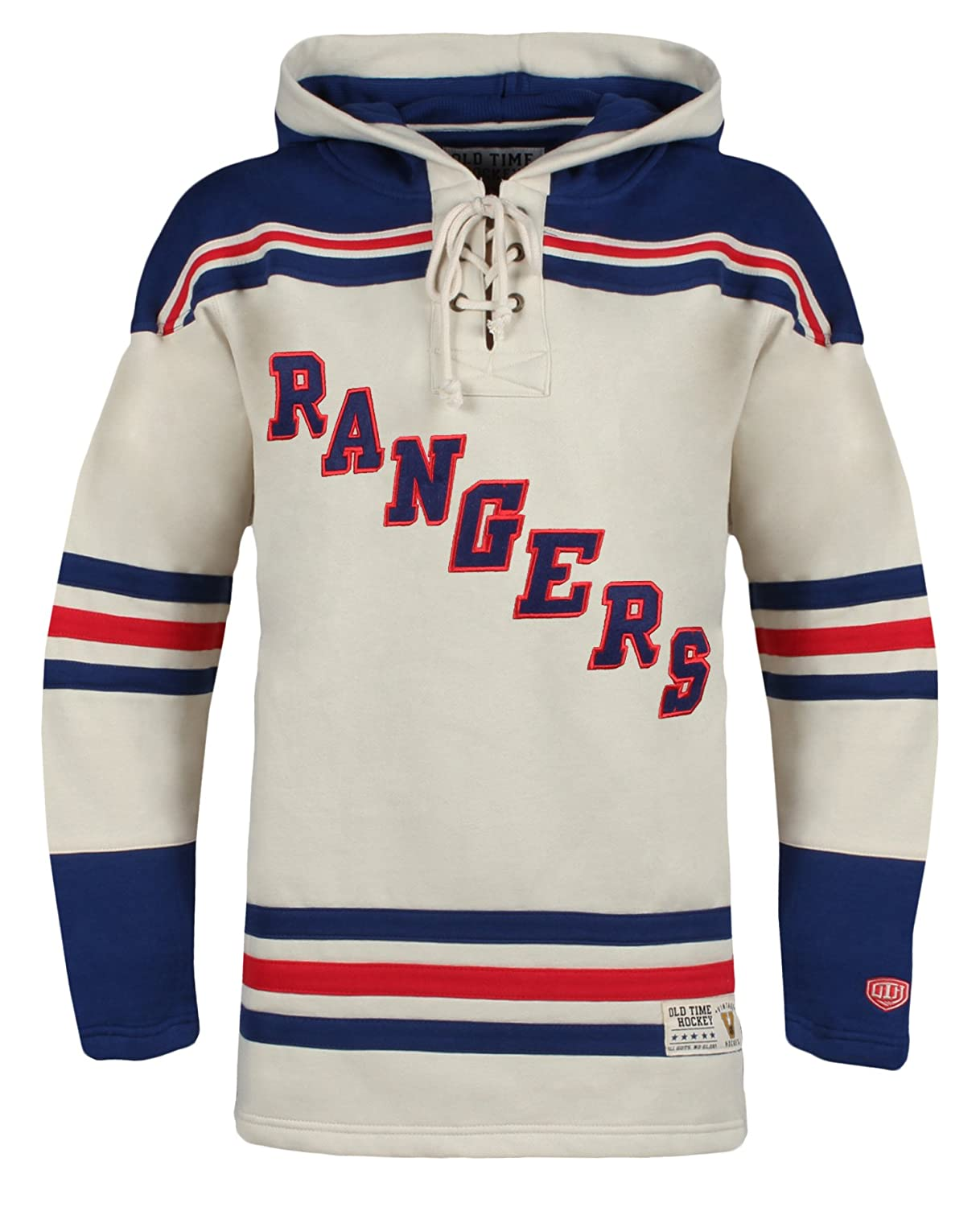 Old Time Hockey NHL Men's Vintage Lacer Heavyweight Hoodie
