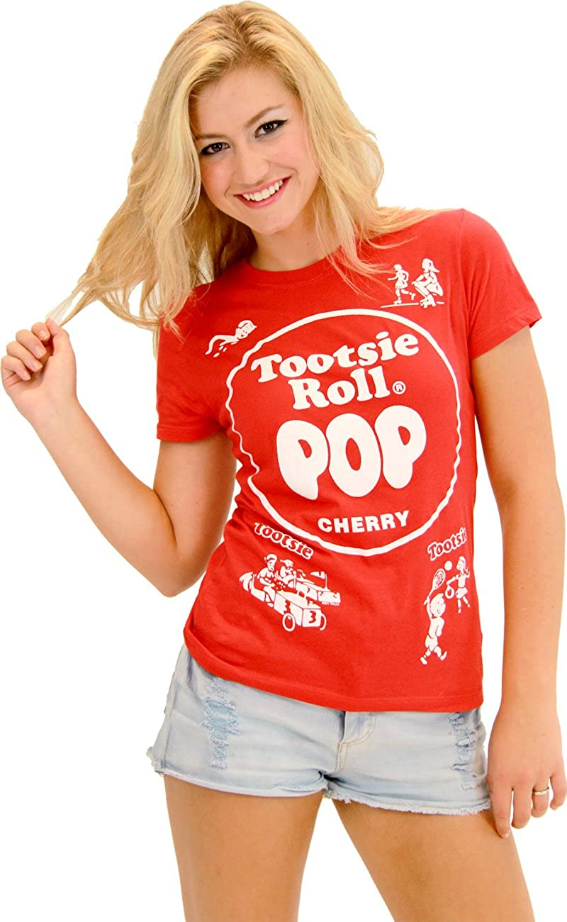 Amazon.com: Tootsie Roll Pop Assorted Cherry Red Costume T ...  Red Tootsie Pop