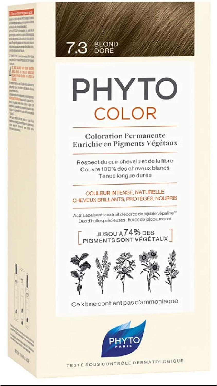 Phyto Phytocolor 7.3 Coloración permanente natural rubio dorado