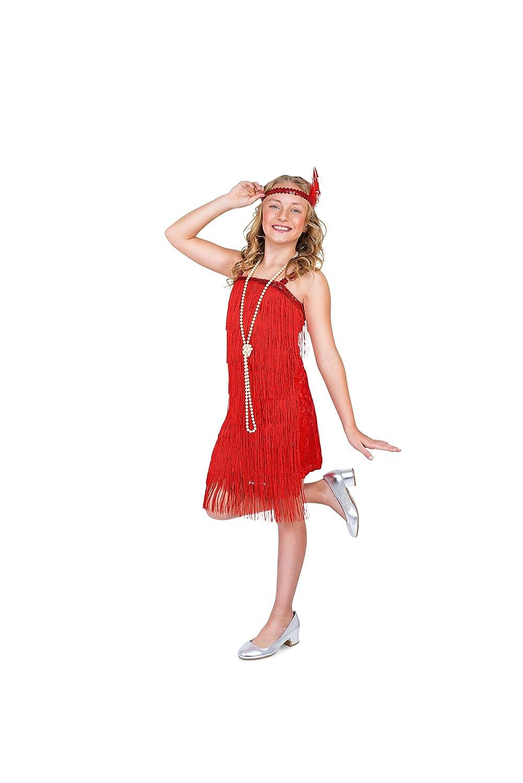 132de80b77 Amazon.com  Karnival Costumes Flapper Costume Girls