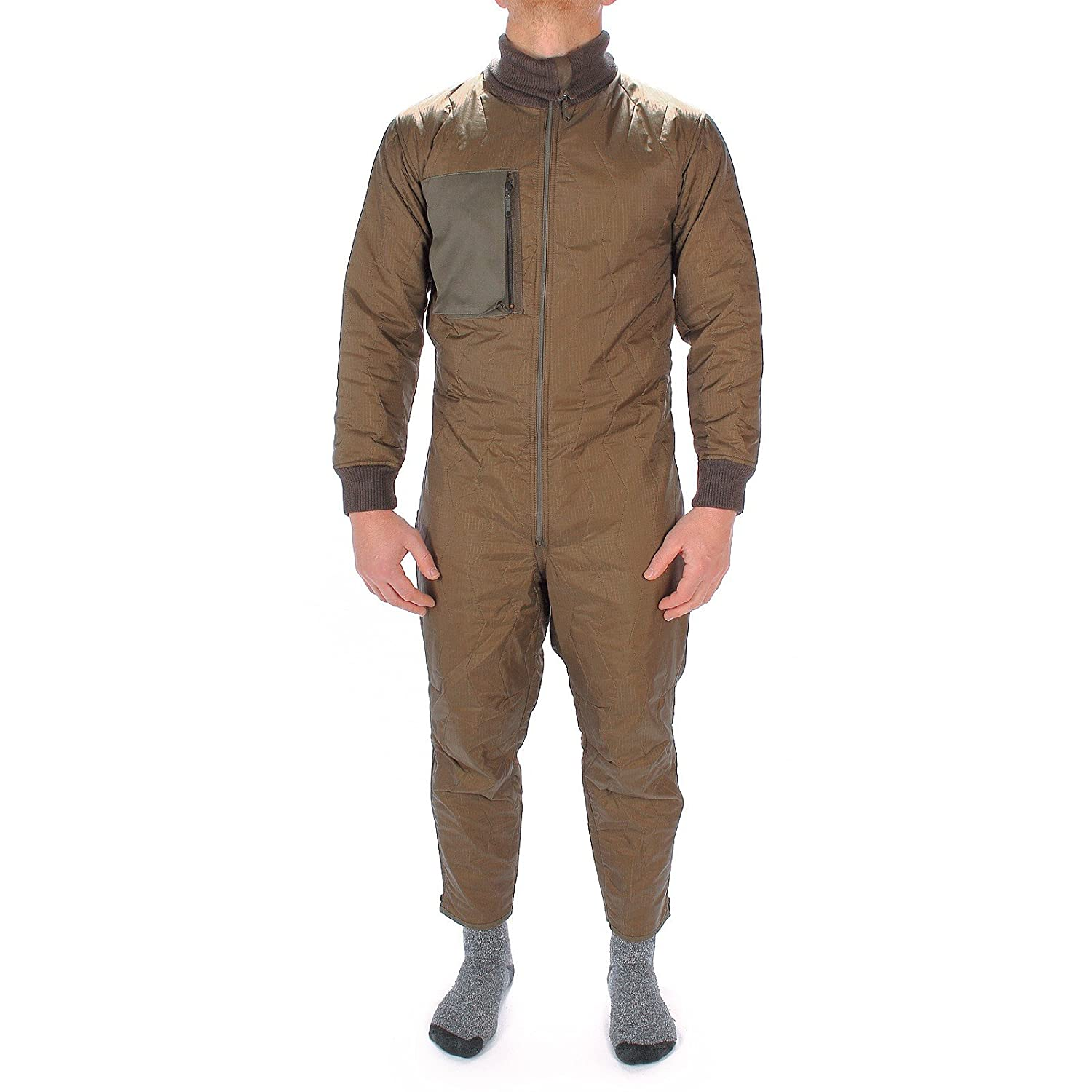 Mil-Tec German Army Overalls Coveralls Undersuit Zip Tanker Combi Kombi Suit