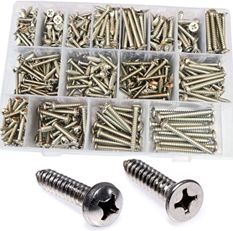 M3 M4 M5 M6 304 Stainless Steel Phillips Cross Pan Truss Head Self Tapping Screw