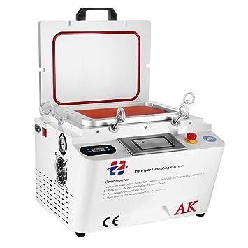 Cueffer 5 en 1 Máquina de Laminación de Vacío Laminador al Vacío OCA Plastificadora para Pantalla