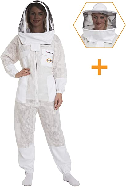 Cool Shield Ventilated Beekeeping Suit Large