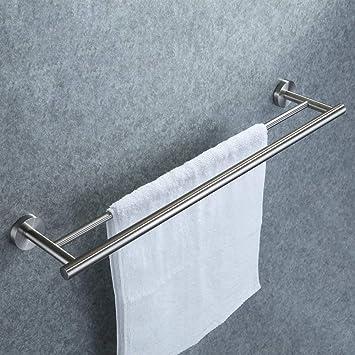 Doppelter Handtuchhalter, Dailyart Badezimmer Handtuchstange Bad ...