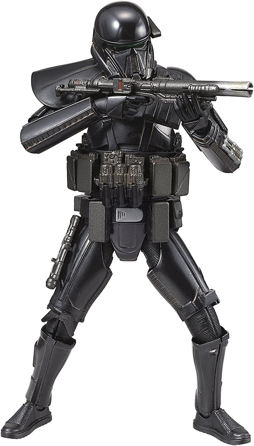 Maqueta BANDAI STAR WARS ROGUE ONE Escala 1/12 DEATH TROOPER modelismo [Necesario el montaje] Importación Japonesa
