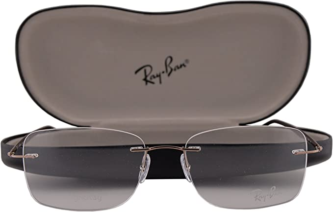 Ray-Ban RX8725 54-17-140 - Gafas de sol, color marrón 1131 RB8725: Amazon.es: Ropa y accesorios