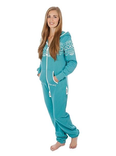 Zipups Mono-Pijama Nordics Verde Menta XL