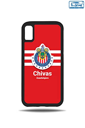 Amazon.com: Fútbol equipos funda Bumper iphone X, Rojo ...