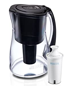 Brita Infinity Smart Water Pitcher and 1 Filter, with Amazon Dash Replenishment