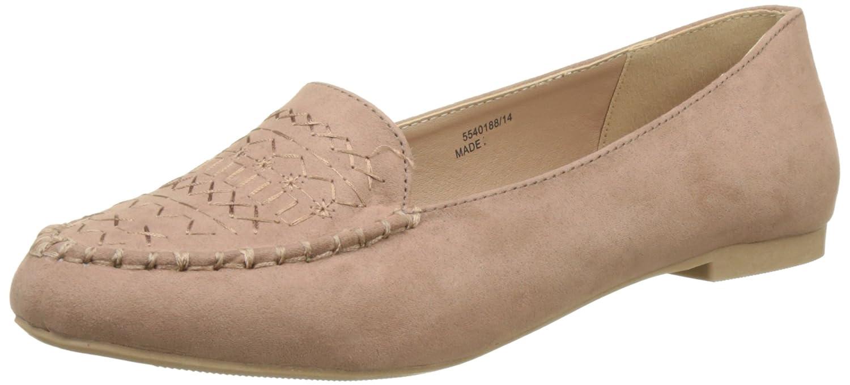 New Look 5540188 - Slippers de Tela Mujer, Color Marfil, Talla 39: Amazon.es: Zapatos y complementos