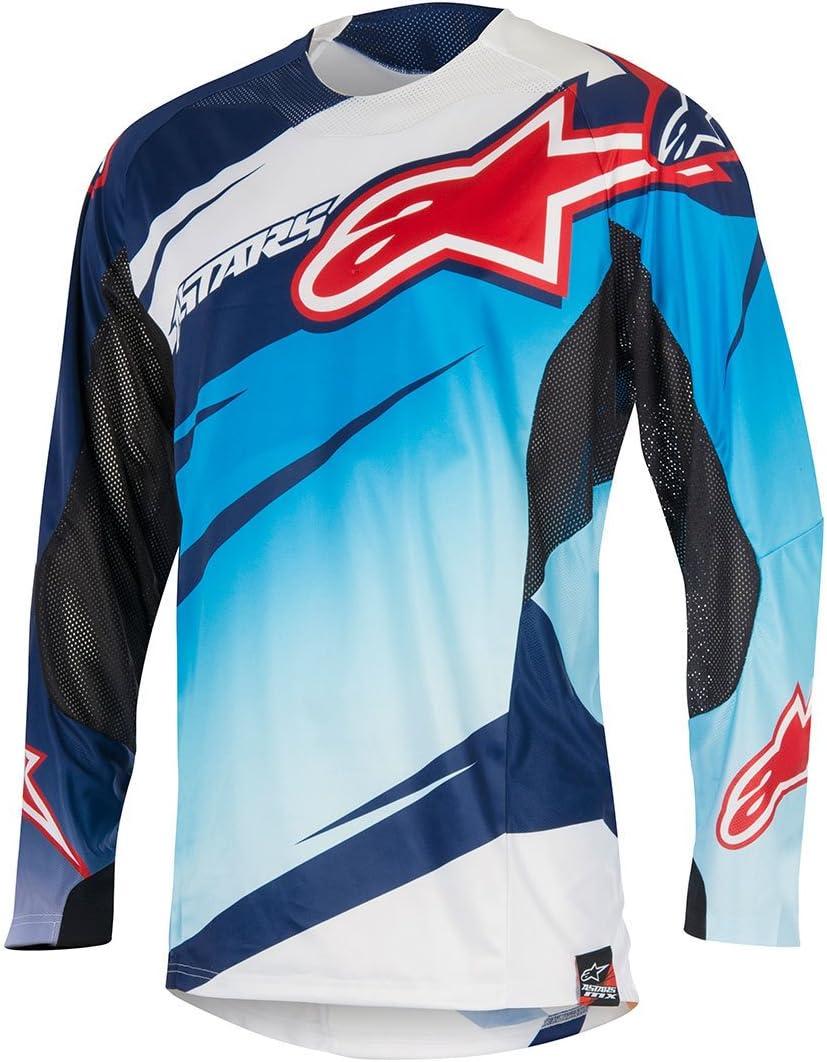 Jersey Mx Alpinestars 2016 Techstar Venom Lime-Cyan-Morado (Xl ...