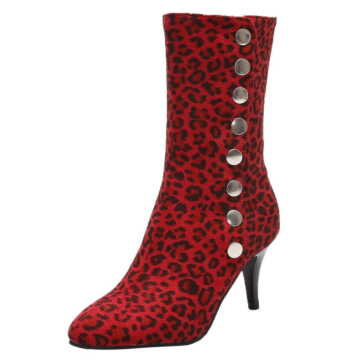 JYshoes , 19020 Bottes Classiques Femme Femme , Rouge 45d4baa - robotanarchy.space