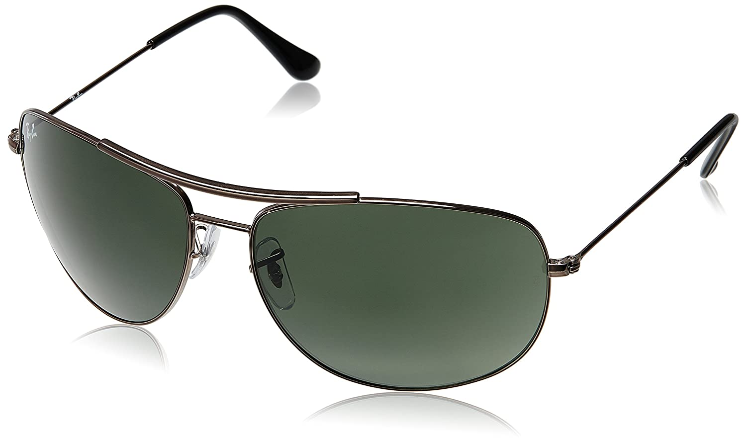 Ray ban sunglasses with price - Ray Ban Aviator Unisex Sunglasses Rb3412 004 63 63 Millimeters Green Amazon In Clothing Accessories