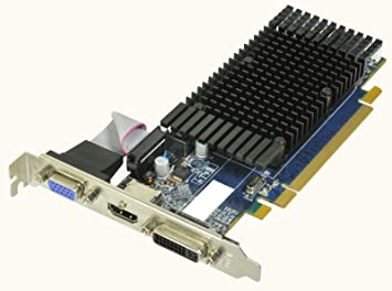 HIS Radeon HD 5450 silencio 1 GB (64bit) DDR3 DL-DVI HDMI (HDCP ...