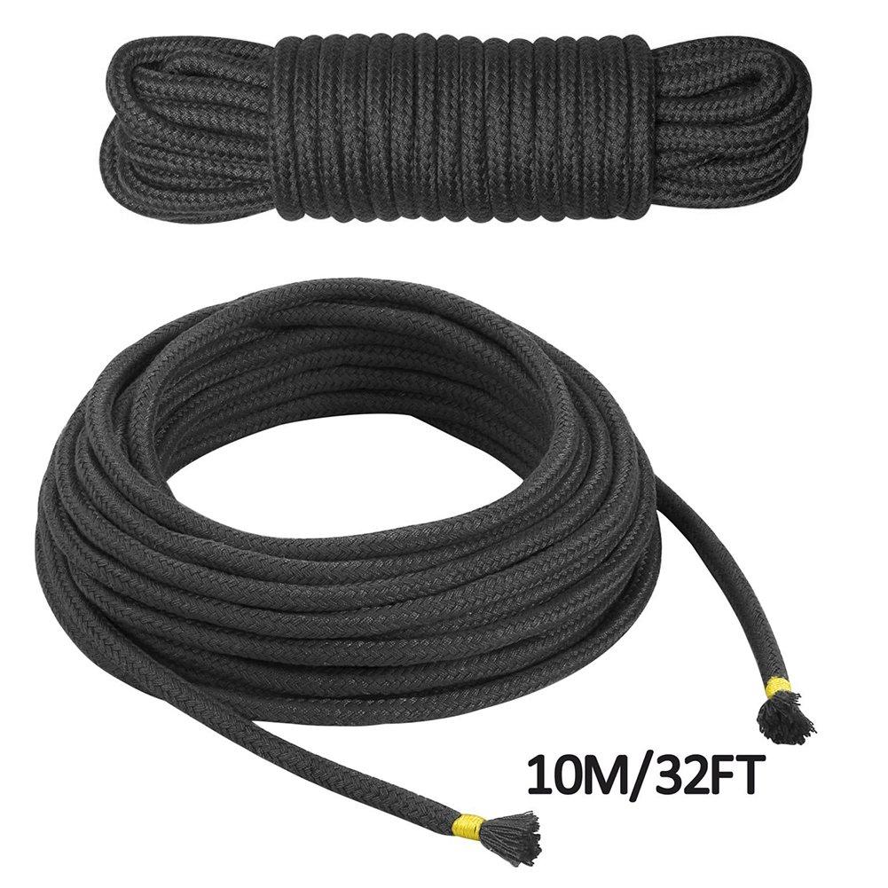 2m² Red,Black,Purple,Pack of 3 2m/² Soft Cotton Rope Restraint Belt 32 Feet Length,1//3-Inch Diameter