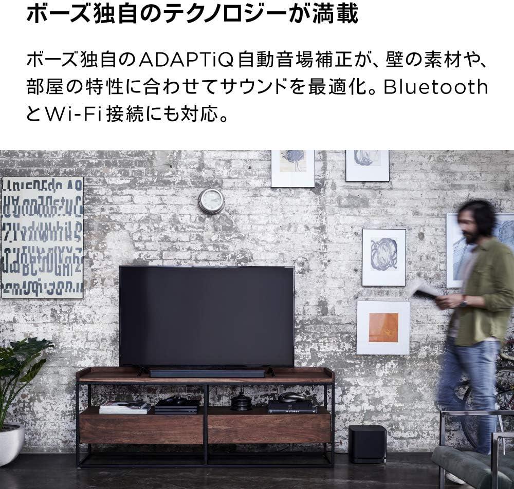 BOSE SOUNDBAR 500 ワイヤレスサウンドバー Amazon Alexa搭載 ブルートゥース接続