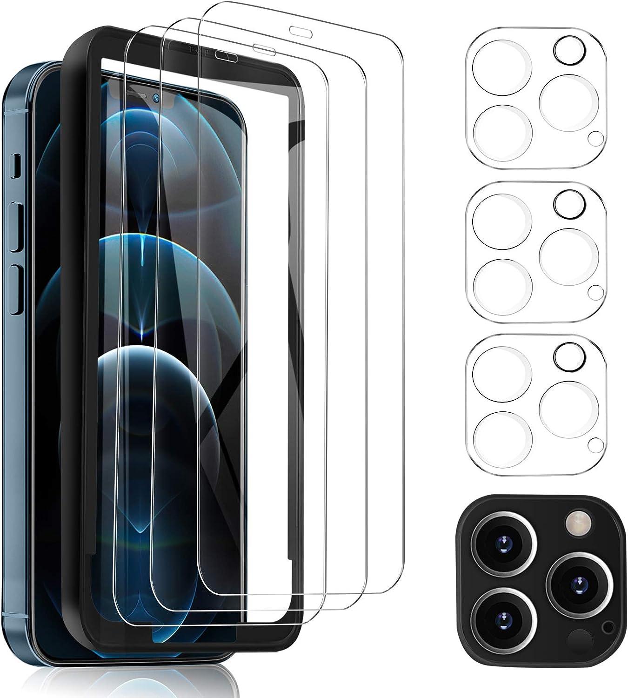 Msova Protective Film Compatible With Iphone 12 Pro Elektronik