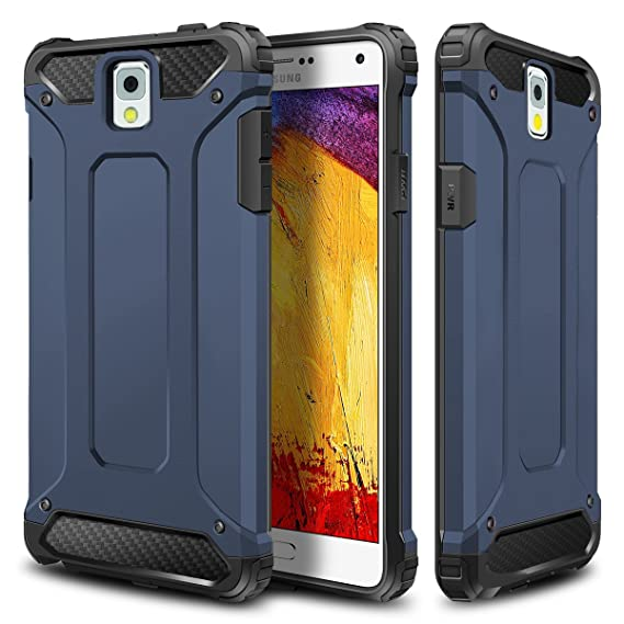 check out ef531 17de9 WOLLONY Galaxy Note 3 Case, Rugged Hybrid Dual Layer Hard Shell Armor  Protective Back Case Shockproof Cover for Galaxy Note 3 Case - Slim Fit -  Heavy ...