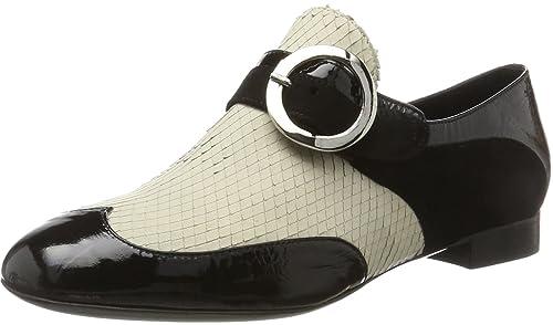 Oxitaly Gemma 303, Mocasines para Mujer, Negro Nero, 38 EU: Amazon.es: Zapatos y complementos