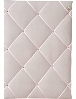 Stoff pinnwand stoff mit satinband grau format x cm with stoff pinnwand elegant memo board - Wandtafel fur zuhause ...
