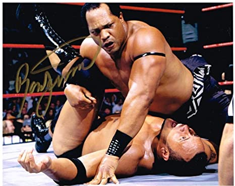 Wwe Wwf Wcw Ron Simmons Hof Farooq Autographed 8x10 Photo