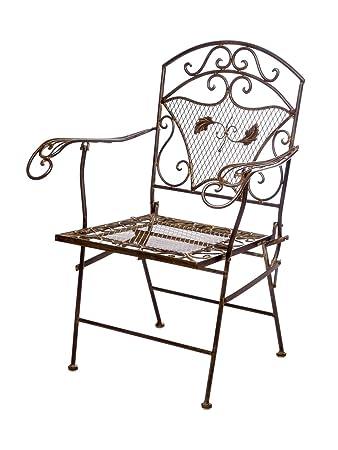 Free Nostalgie Eisen Kg Gartenstuhl Sessel Stuhl Antik Stil Chair Iron With Gartenstuhl  Eisen