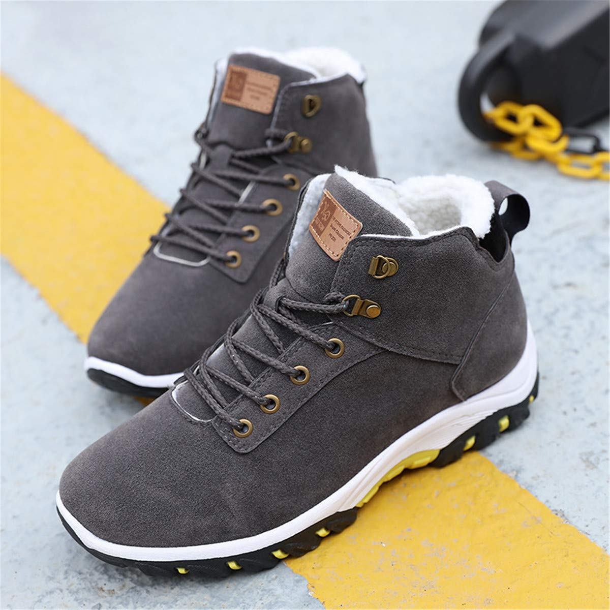 Winter Shoes Men Plush Warm Winter Boots Men Anti skidding Boots