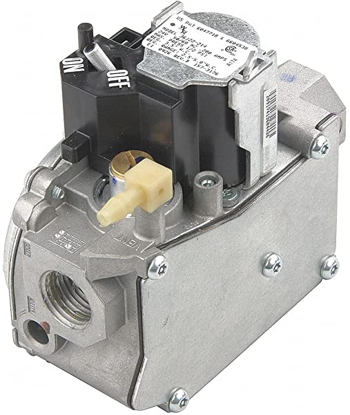 White Rodgers Furnace Gas Valve with LP Kit Single Stage 24 Volt 36G24Y-206