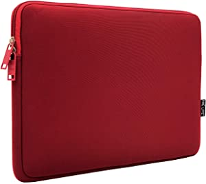 ONE LIFE 15 Inch Waterproof Laptop Sleeve Case Compatible with 15 Inch MacBook Pro HP Dell ASUS ASUS Acer Lenovo Sony (15 Inch, Red)