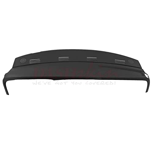 Dash Skin Molded Dash Cover Compatible With 02-05 Dodge Ram In Black