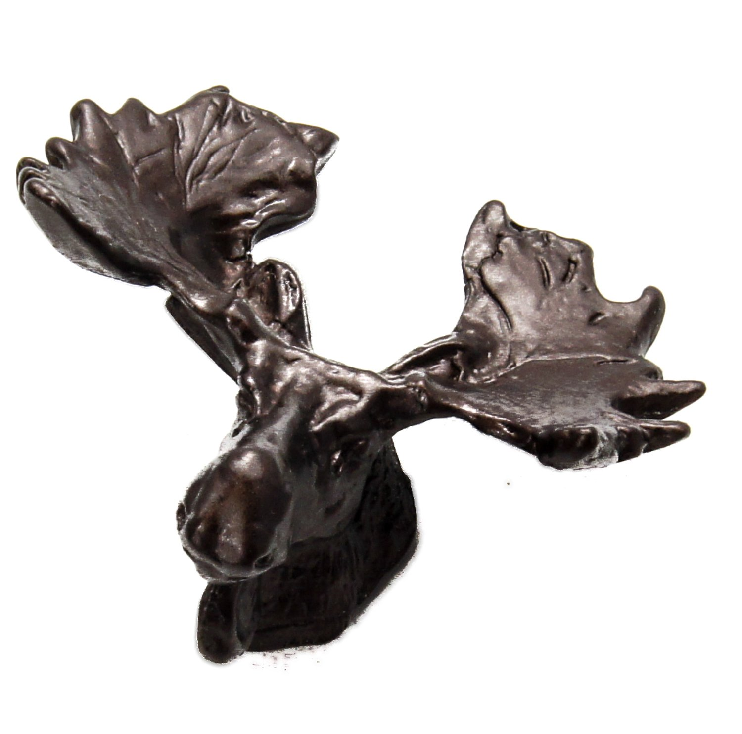 Carpe Diem Hardware 2254-12 Lodge Collection Moose Small Knob, Bronze by Carpe Diem Hardware