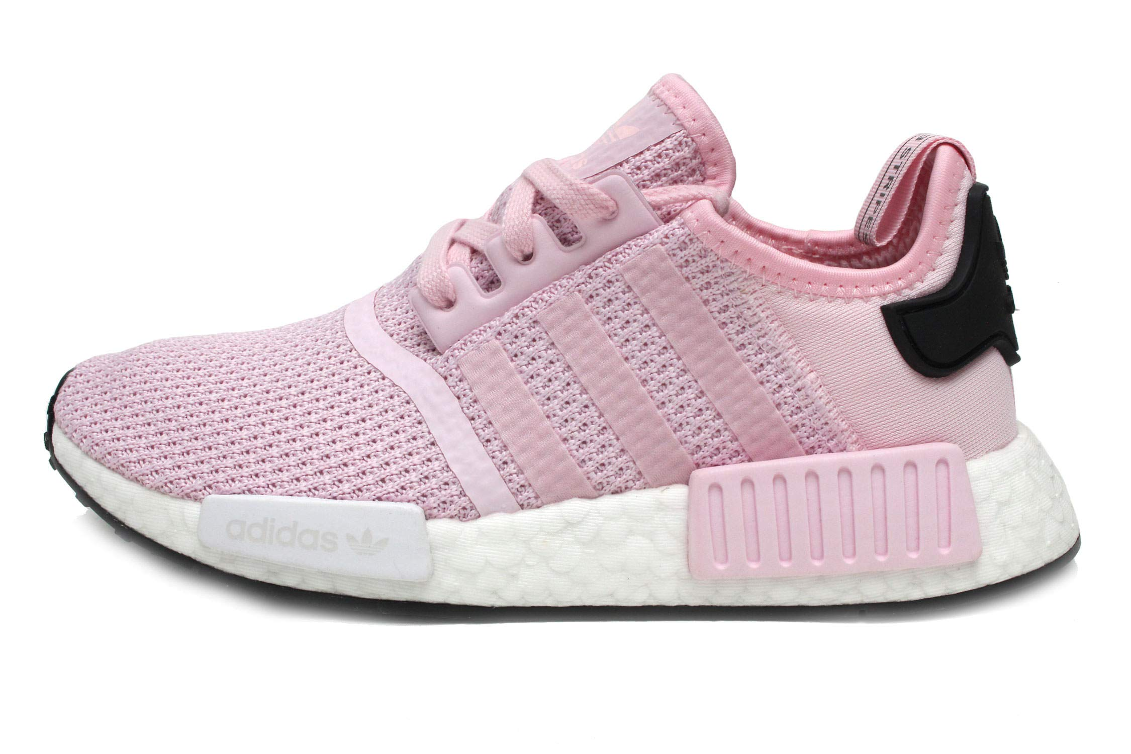 new style 6f737 b7ffc Galleon - Adidas Originals NMD R1 Shoe Women s Casual 5 Clear Pink-White -Black