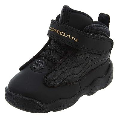 new product 06784 5e059 Jordan Boy's Pro Strong (TD) Toddler Shoe, Black/Metallic Gold-Black 10C