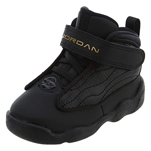new product b082a ccfb4 Jordan Boy's Pro Strong (TD) Toddler Shoe, Black/Metallic Gold-Black 10C