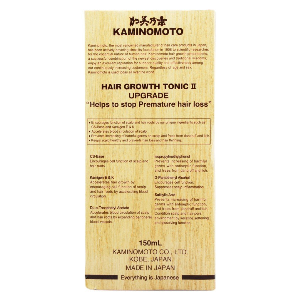 Buy Kaminomoto Hair Growth Accelerator Ii Upgrade Tonic 150ml Online At Low Prices In India