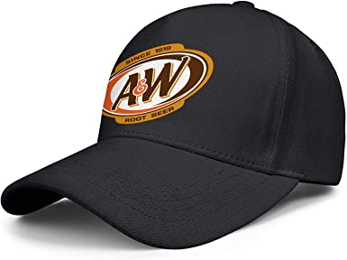 Ladies A/&W Root Beer Soda Advertising Baseball Cap Hat New One Size Fits