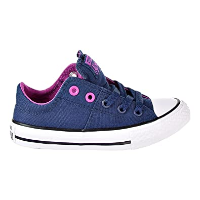 4797bff2ef8108 Converse Chuck Taylor All Star Childrens Madison Ox Navy Hyper Magenta White  Size 5.5