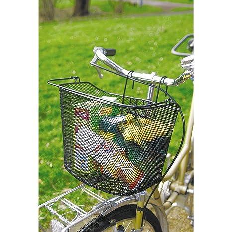 GUIZMAX Panier Avant pour vélo Noir en métal  Amazon.fr  Sports et ... 81eb196b2f8