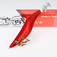 RUI Squid JIG Field Testers Special Edition PORTSEA RED Size 3.5 EGI Lure