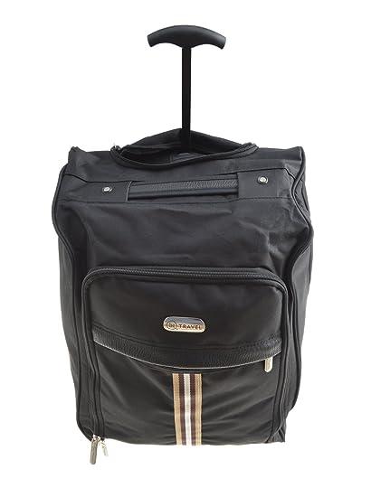 EasyJet cabina bolso de mano de la maleta del equipaje ligero estupendo con el mango extensible y ruedas Perfecto para todas las aerolíneas como Ryanair, ...