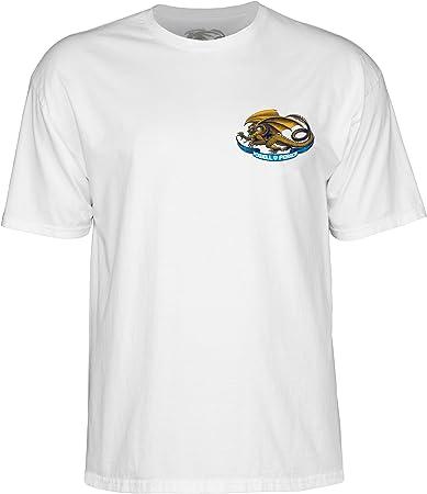 Powell Peralta Skateboard Shirt Winged Ripper White
