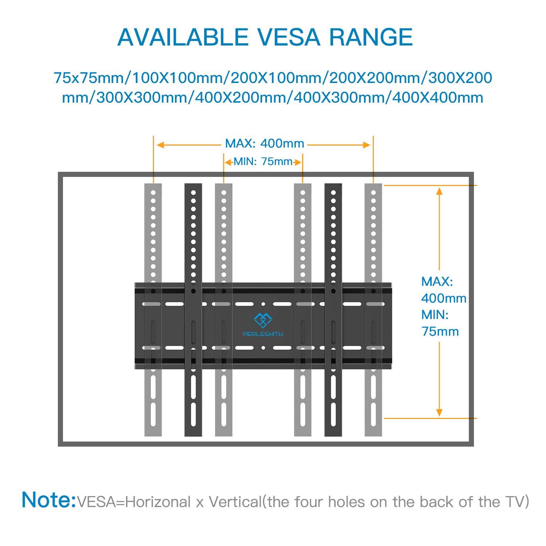 Soporte TV de Pared Articulado Inclinable VESA M/áxima de 400x400mm Soportar 60 kg Soporte De Pared TV para Pantallas/de 26-55/'/' LCD OLED