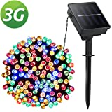 Amazon Price History for:LED String Lights, Lellel 3nd Gen Solar Outdoor String Lights, 8 Twinkle Mode, Waterproof Weatherproof for Yard Patio Garden Tree Party Wedding Christmas Decoration, Multi-color