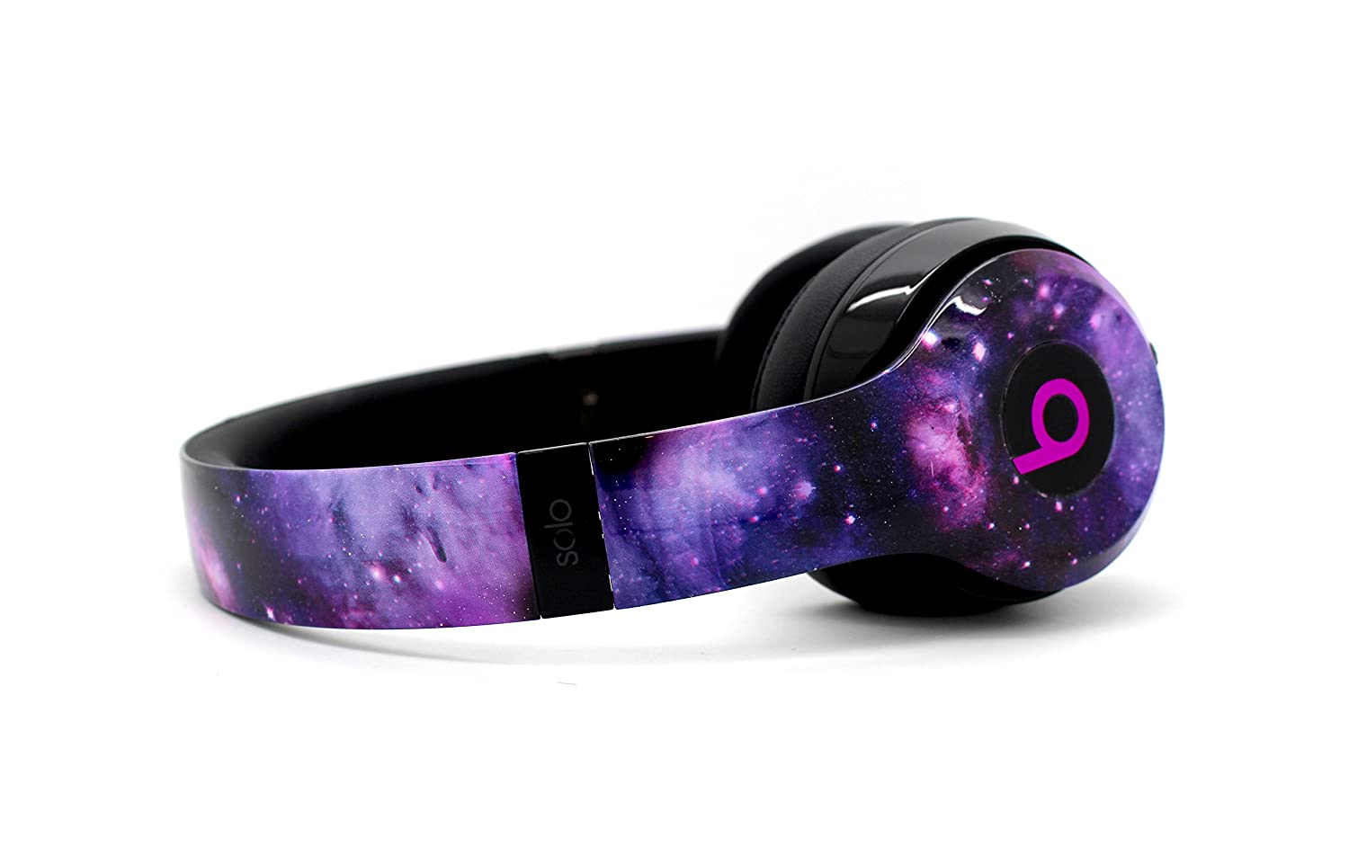 Beats by Dre Solo 3ワイヤレス – カスタムDr。Dreヘッドセット – デザイン(Galaxy) B07FVHW27Z