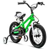 RoyalBaby Kids Bike Boys Girls Freestyle Bicycle 12 14 16 inch with Training Wheels,16 18 20 inch with Kickstand Child's…