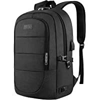 Travel Laptop Backpack, Anti Theft Business Laptop Backpack with USB Charging Port and Headphone Interface fits Under 17…