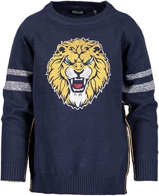 Blue Seven Boys Jumper